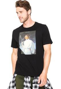 Camiseta Cavalera Don Preto