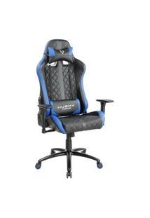 Cadeira Gamer Husky Gaming Hailstorm, Black Blue - Hha-Bb