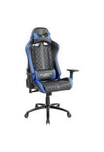 Cadeira Gamer Husky Hailstorm, Black Blue - Hha-Bb