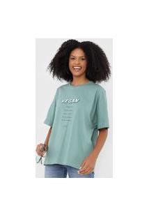 Camiseta Colcci Vegan Verde