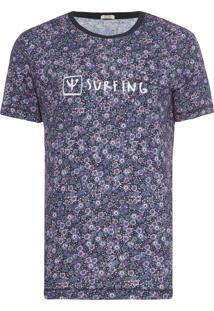 Camiseta Masculina Pocket Fiorellino Cool - Roxo