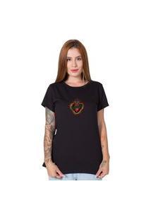 Camiseta Sagrado Corazon Preto