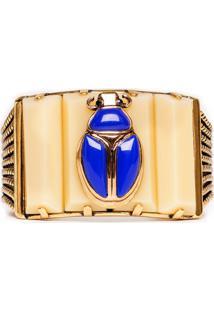 Bracelete Escaravelho-Esmeralda - Un