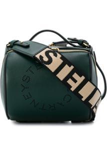 Stella Mccartney Bolsa Tiracolo Stella Pequena Com Logo - Verde