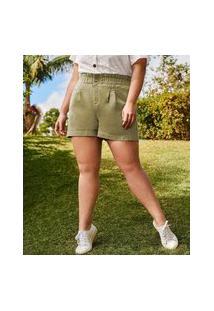 Short Plus Size Feminino Sarja Clochard Marisa