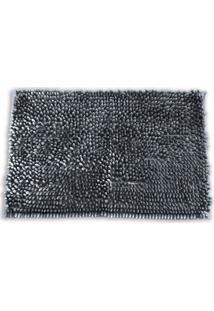 Tapete Microfibra Velour- Chumbo- 70X50Cm- Buettbuettner
