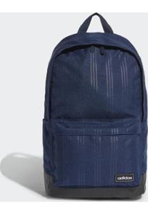 Mochila Adidas Classic 3S Masculina - Masculino-Azul