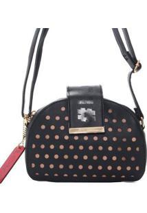 Bolsa Transversal Betty Boop Com Detalhe Vazado 11007997 - Feminino