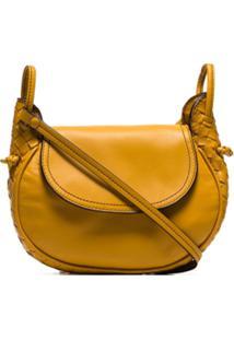 3e4110530 R$ 5603,00. Farfetch Bolsa Ouro Amarelo Couro Transversal ...