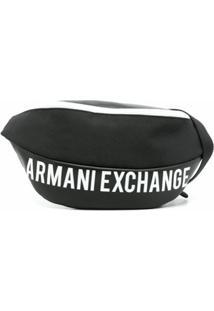 Armani Exchange Pochete Com Logo - Preto