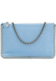 Stella Mccartney Falabella Chain Trim Tote Bag - Azul