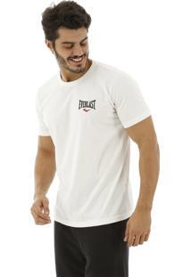 Camiseta Everlast Estampada Costas Off-White