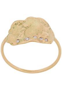 Pascale Monvoisin 9Kt Yellow Gold Izia N1 Ring - Dourado