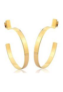 Argola Chade - Le Diamond - Dourada