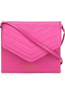 Bolsa Petite Jolie Mini Bag Hello Matelassê Feminina - Feminino-Pink