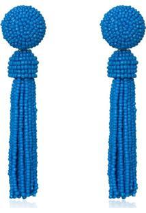 Brinco Le Diamond Zulai Azul - Kanui