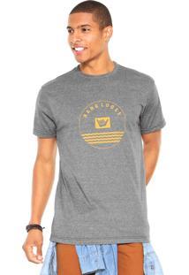 Camiseta Hang Loose Outline Cinza