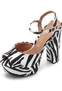 Sandália Vizzano Zebra Branco