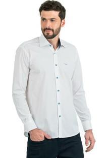 Camisa Di Sotti Lisa Branca - Masculino