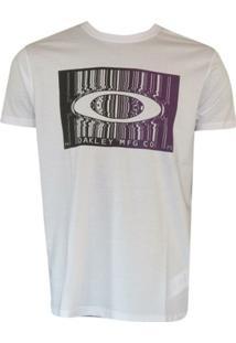 Camiseta Bar Code Tee White Oakley - Masculino
