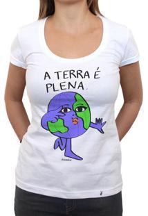 A Terra É Plena - Camiseta Clássica Feminina