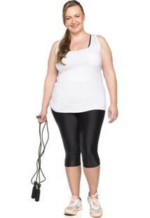 Calça Pescador Plus Size Micro Reflect - Feminino