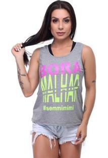 Regata Longa #Sem Mimimi Hard Clothing Fit Feminina - Feminino