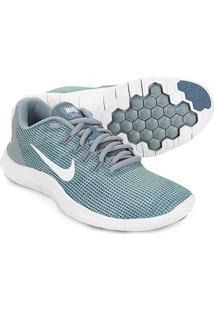 Tênis Nike Wmns Flex 2018 Rn Feminino - Feminino-Verde+Branco