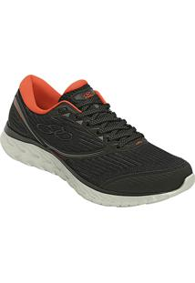 7f8a659ce4 ... Tênis Olympikus Runner Flow Masculino - Masculino-Preto+Laranja