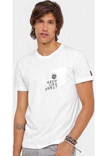 Camiseta Sommer Keep Life Bolso Masculina - Masculino