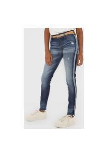 Calça Jeans Colcci Skinny Fátima Azul