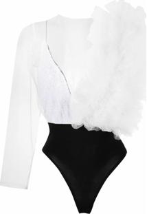 Alchemy Body Com Tule Lia - Branco