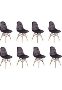 Cadeira E Banco De Jantar Impã©Rio Brazil Boton㪠- Cinza/Incolor - Dafiti