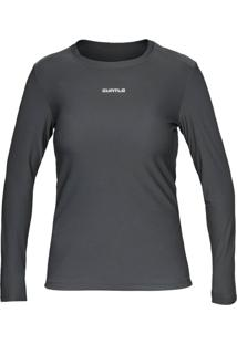 Camiseta Curtlo Active Fresh Ml - . Cinza Gg - Kanui
