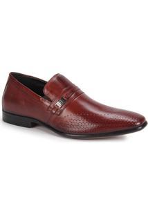 Sapato Social Masculino Rafarillo Dubai - Castanho