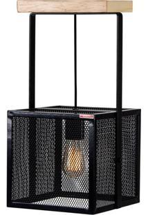 Luminaria Refletor Ink Estrutura Em Cantoneira De Ferro Cor Preto 25Cm (Larg) - 54123 - Sun House