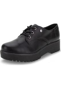 Sapato Feminino Oxford Via Marte - 207305 Preto 34