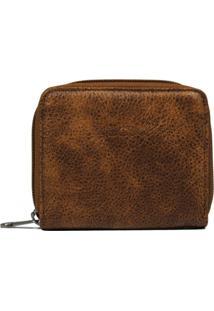 Carteira Em Couro Recuo Fashion Bag Selvagem Telha