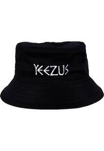 Chapéu Bucket Skull Clothing Yeezus Kanye Preto