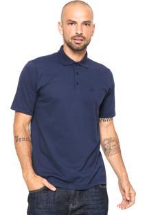 Camisa Polo Quiksilver Piquet Azul