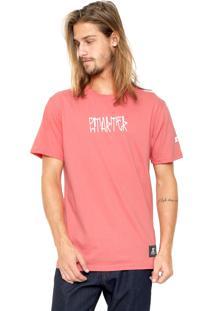 Camiseta Starter Estampada Coral