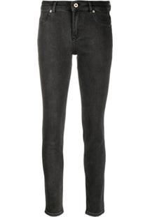 Versace Jeans Couture Calça Jeans Skinny - Preto