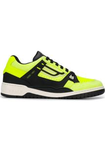 Bally Champion Low-Top Sneakers - Amarelo