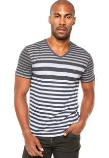 Camiseta Aramis Reta Multicolorida