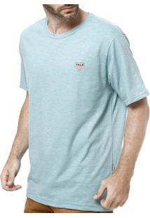 Camiseta Manga Curta Masculina Vels Vinho - Masculino-Verde