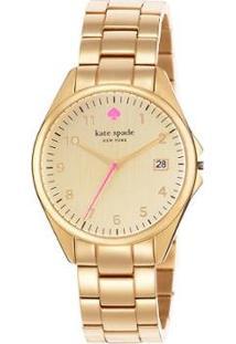 Relógio Kate Spade Seaport Grand 1Yru0030/I Feminino - Feminino-Dourado