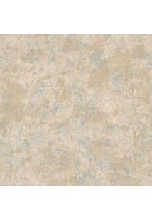 Papel De Parede Castelani Abstrato- Marrom Claro & Laranedantex