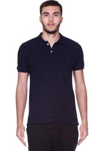 Camisa Polo King&Joe Azul-Marinho
