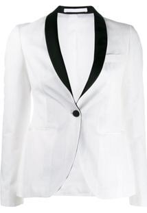 be6c241b69 Blazer Branco Preto feminino