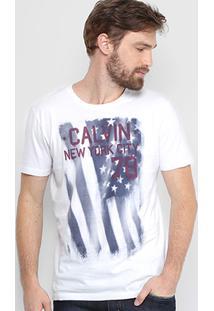 Camiseta Calvin Klein Estampada Masculina - Masculino